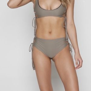 Acacia Swimwear Murray Bottoms in Cement